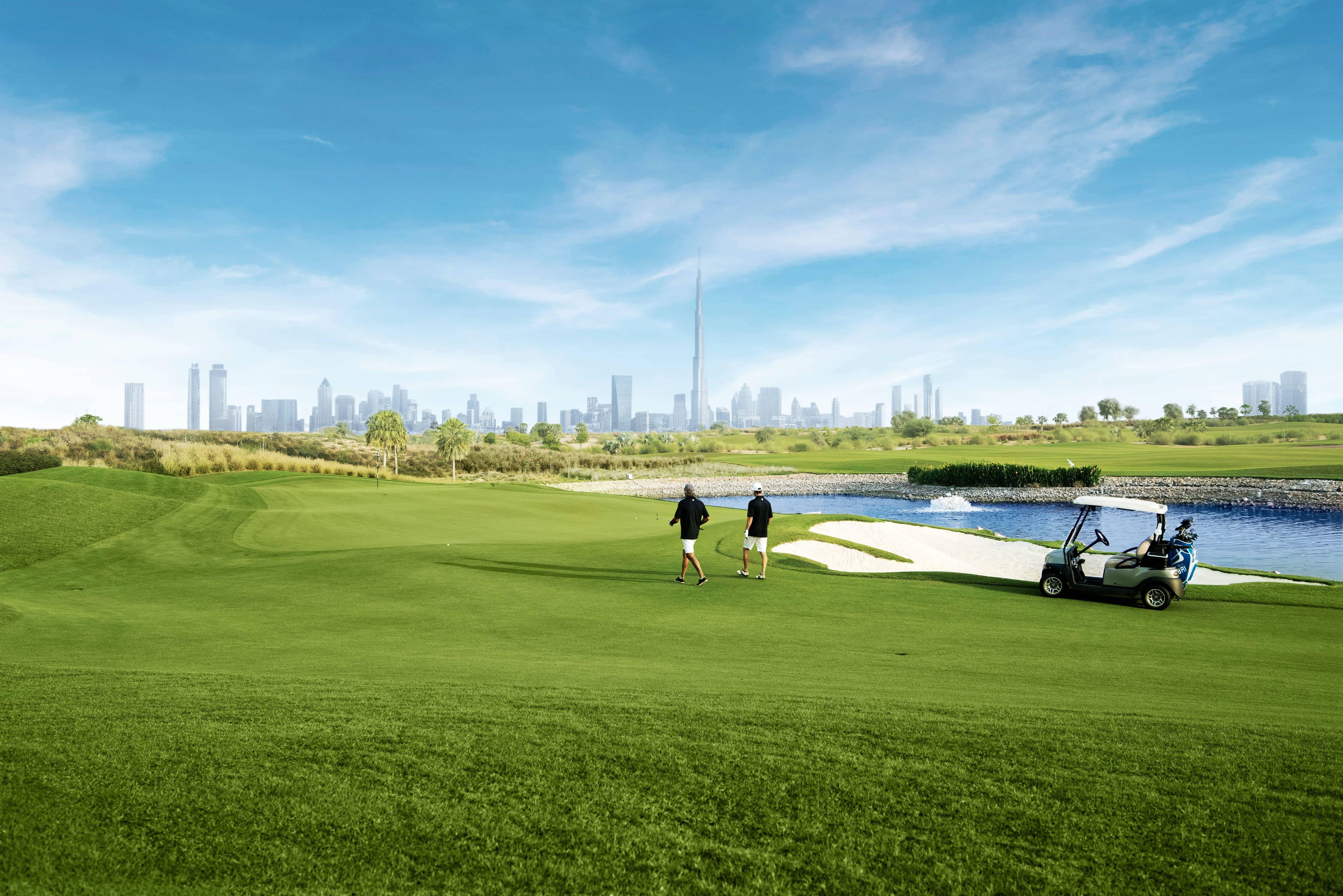 meciul de golf)