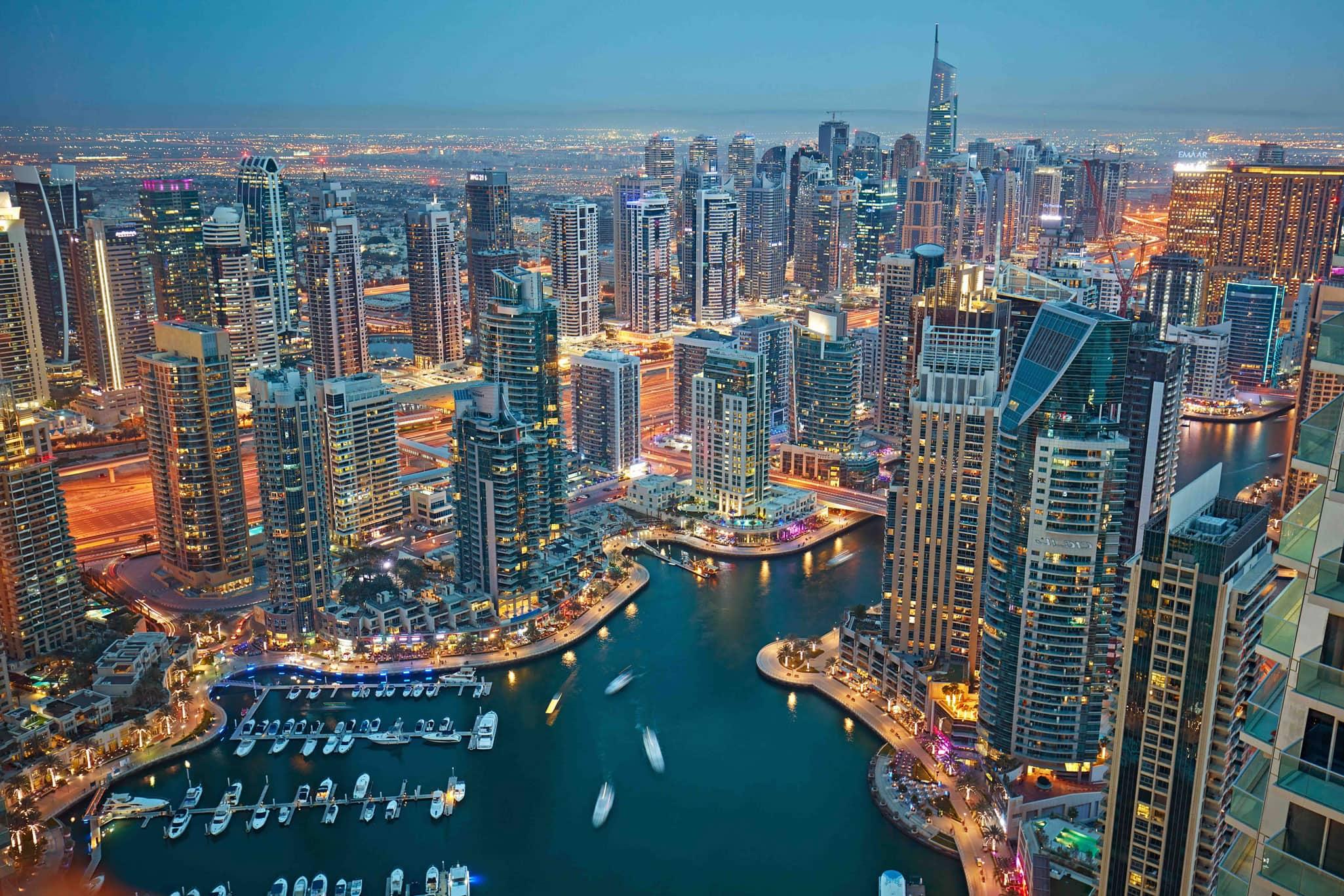 Главные Районы и Достопримечательности Дубая   Посетите Дубай